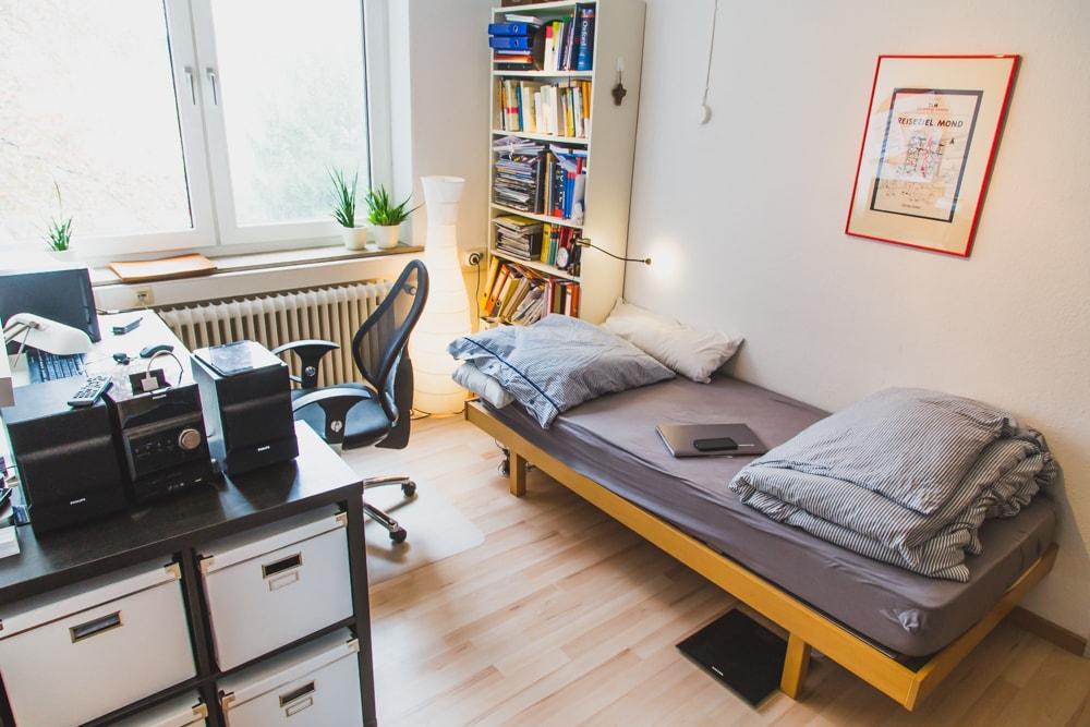zimmer im wohnheim studentenwohnheim aachen. Black Bedroom Furniture Sets. Home Design Ideas